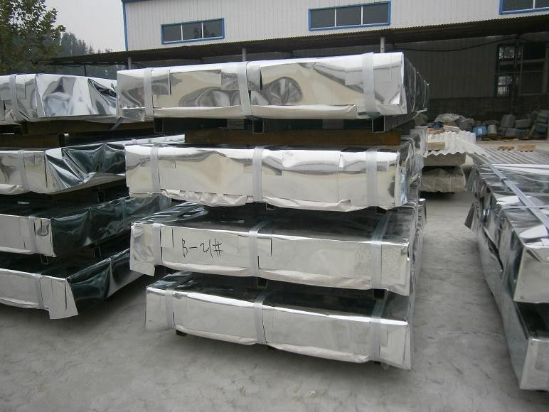 how to get zinc metal from galvanised sheet