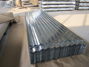 China 0.15-1.5mm Thickness Galvanized Corrugated Roofing Sheet , ASTM A653 distributor