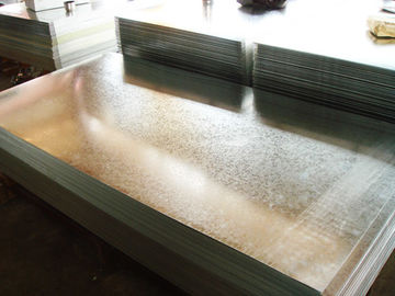 G40 - G90 Anti Finger / Oiled / Passivated  Zinc Hot Dip Galvanized Steel Sheet