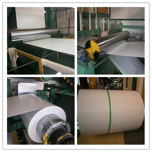 Galvalume Steel Plate Prepainted Color Steel Coils / Coil with Z60 to Z275 Zinc coat